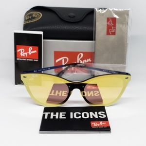 Ray Ban Sunglasses Gold Mirror Cat eye